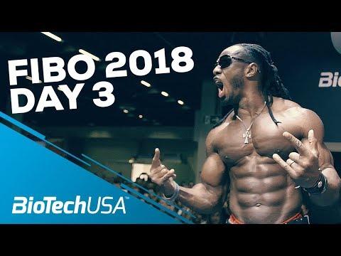 Fibo 2018 - Day 3 -BioTechUSA
