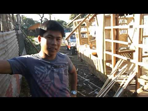 How to make bamboo roof Instead of Nipa Leaf- Cris Bamboo