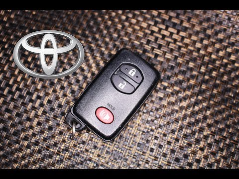 How to replace a Toyota Prius Smart Key Battery
