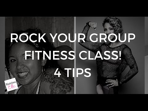 4 TIPS to Rock your Group Fitness Class