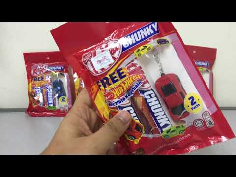 Kit Kat Chunky Free Hot Wheels Collectible KeyChain review