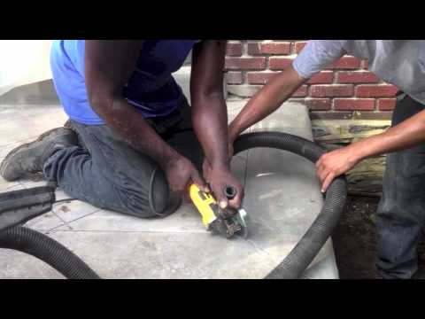 How to saw cut Concrete Patio | Concrete and Cement work Contractor