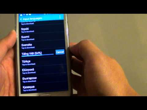Samsung Galaxy S5: How to Download & Install More Keyboard Input Languages
