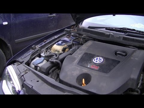 VW Golf Jetta Windshield Washer Pump Removal Quick Easy Steps