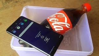 Samsung Galaxy S9 Plus Coca-Cola Test Will It Survive ?