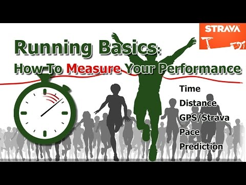 Running Basics: How to time your run, measure pace (speed/cadence) & rank age adjusted performance