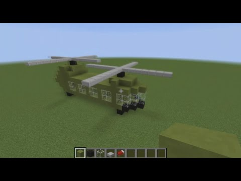 MINECRAFT: How To Build a Helicopter