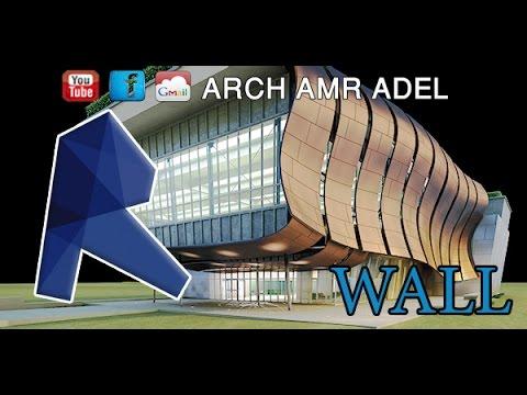 REVIT ARCH WALL DRAW