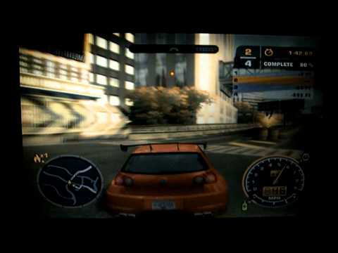 NFS Most Wanted on Dell Vostro 1500 nVidia 8600m GT Laptop with Broken Fan