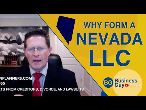 Why Form a Nevada LLC?