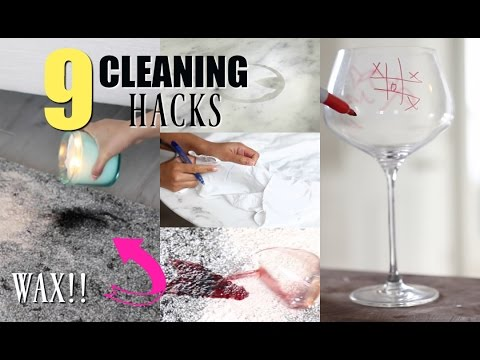 9 Cleaning Hacks You Need To Know - MissLizHeart