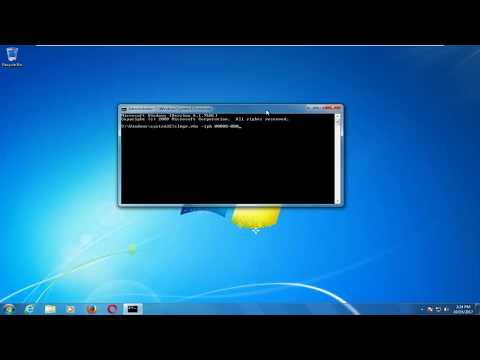 How To Change Windows 7 Product Key (Command Prompt Method)