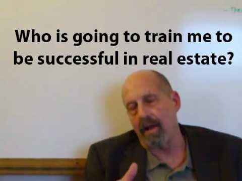 Texas Real Estate University - Who is going to train me to become a successful agent?