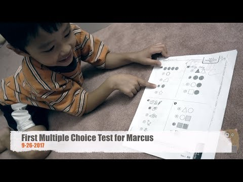Fatherhood - First Multiple Choice Test for Marcus 9-26-2017