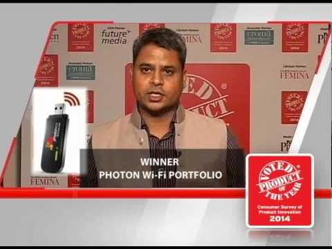 Product Of The Year 2014 Winner - TATA DoCoMo Photon Wi-Fi