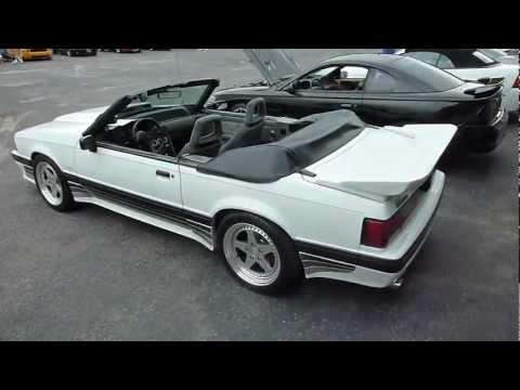 1988 & 1989 Fox Body Saleens - Stevens Ford Car Show - Long Island, NY