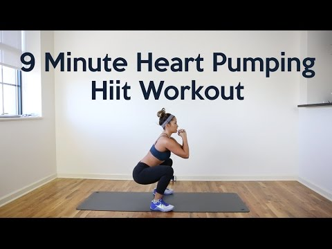 9 Minute Heart Pumping Hiit Workout