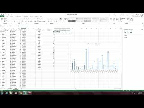 To the Point: Excel Lesson made Simple (Create Time Series Trend Graphs)