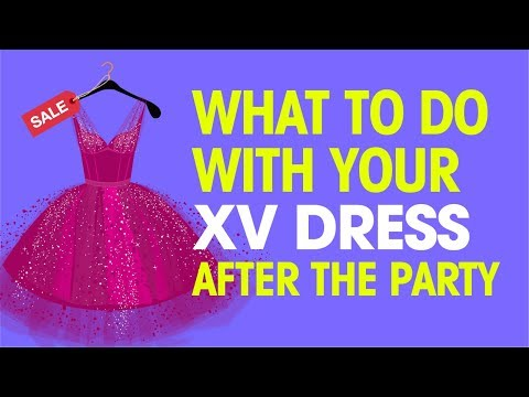 What Should You Do with Your Quince Dress After the Party?