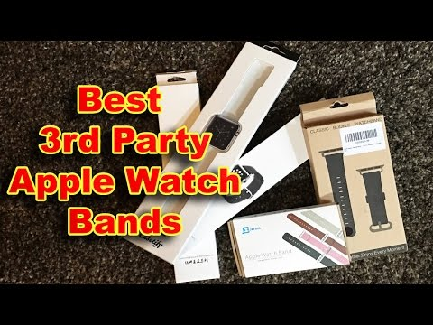 Best Third Party Apple Watch Bands