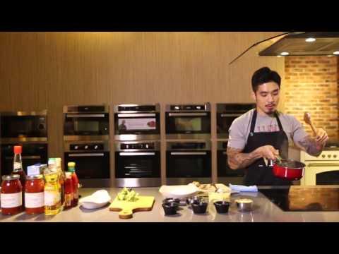 Broccoli and Mushroom Baked Rice Recipe - Martin Praja Cooks