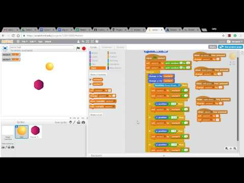 Make a Bouncing Ball in Scratch - Episode 5 - Adding Collision