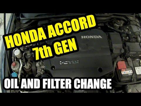 Honda Accord 2003–2007 i-CTDi 2 2 Oil and Filter Change