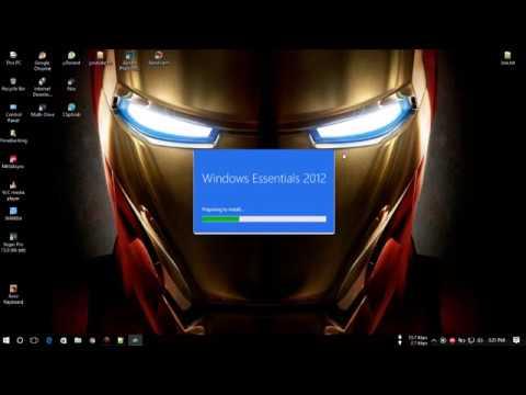 Download windows essentials 2012 offline installer/And install movie maker