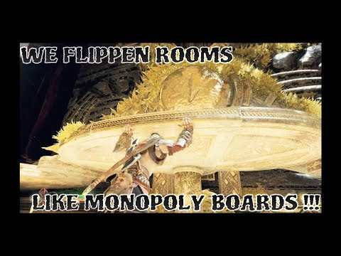 God of War LETS PLAY EP.24 [WE FLIPPIN ROOMS LIKE MONOPOLY BOARDS]