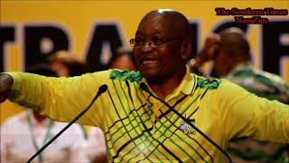 Zuma singing during the ANC conference