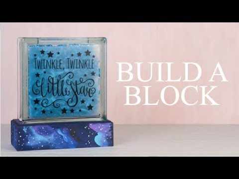 Spring Glass Block Ideas