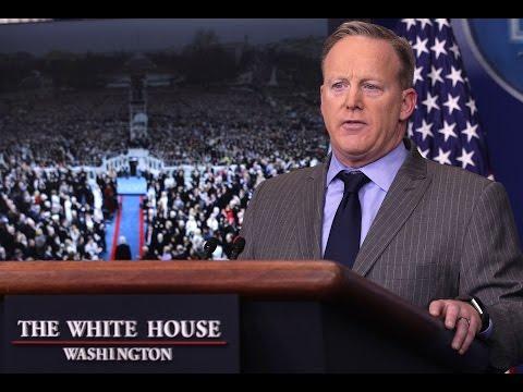 Sean Spicer SLAMS THE DISHONEST MEDIA White House Press Secretary Delivers Statement