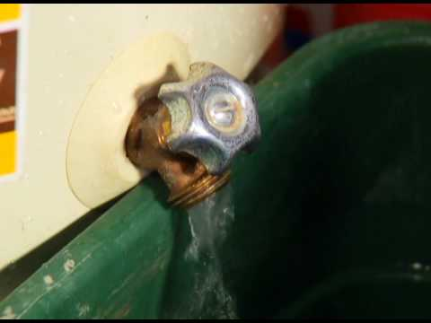How to  Drain and Flush Water Heater
