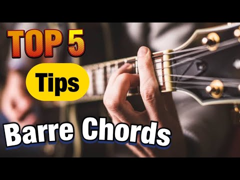 5 Tips For Perfect Bar Chords - Beginner Guitar Lesson