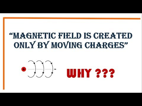 Why do moving charges produce magnetic fields?