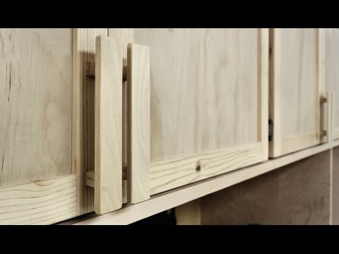 How To Make And Install Wooden Cabinet Handles