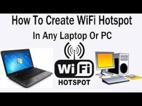 Turn on HOTSPOT on any PC and laptop share your internet to your phone very easy