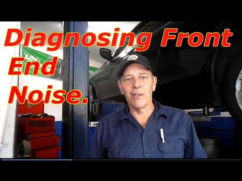 How To Diagnose Front End Noise On A 2010 Honda Accord