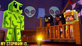 Minecraft MY STEPMOM IS.....AN ALIEN!! - Donut the Dog