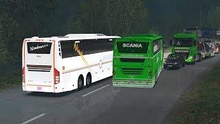 🔴 Asian Xpress - ETS2 Indian Bus Mod [Indian Traffic Sample