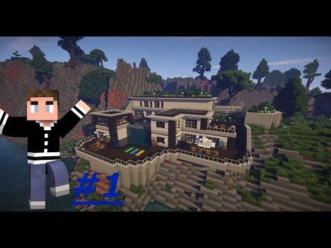 Build it Timelapse -  Modern Hill House -  #1 [Minecraft] [Hartey] [German] [HD]