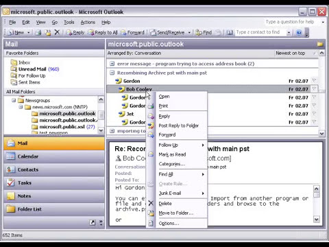 Working with newsgroups in Outlook using MAPILab NNTP add-in