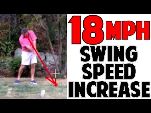 INCREASE GOLF SWING SPEED   Member Goes From 80 to 98 MPH!!