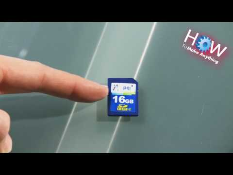 How to Repair the Write Protect on an SD card