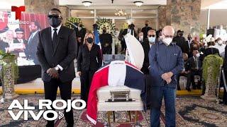 República Dominicana da el último adiós a Johnny Ventura con sentido homenaje