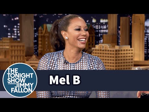 Mel B Cannot Pronounce Buzzer