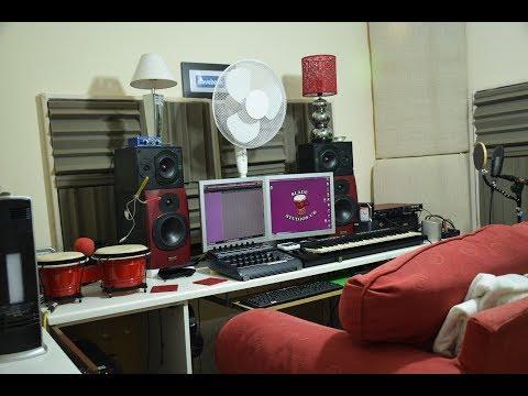 DJ Blade Studio Tour BLAH