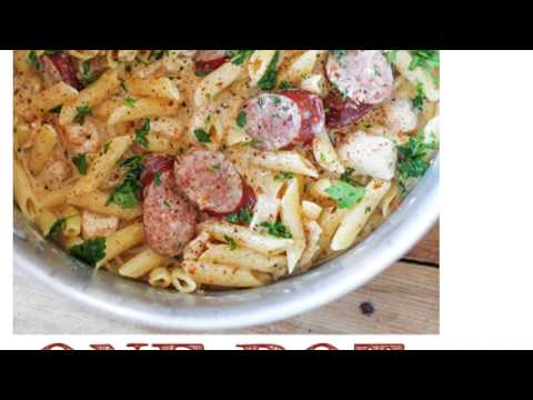 COOKING WITH NICKIE|CAJUN CHICKEN AND SAUSAGE ALFREDO 🍝