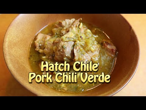 Easy Hatch Chile Pork Chili Verde - Easy Recipes Eps 55