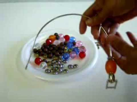 How to Bead Wire Purse Handles